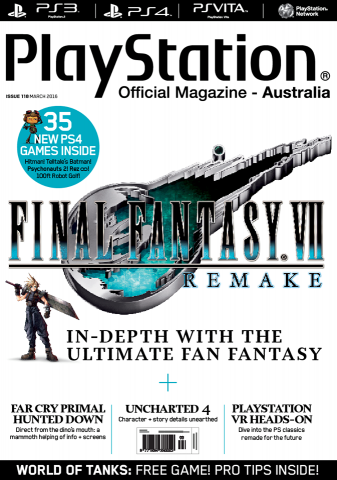 PlayStation Official Magazine Issue 118 (March 2016)