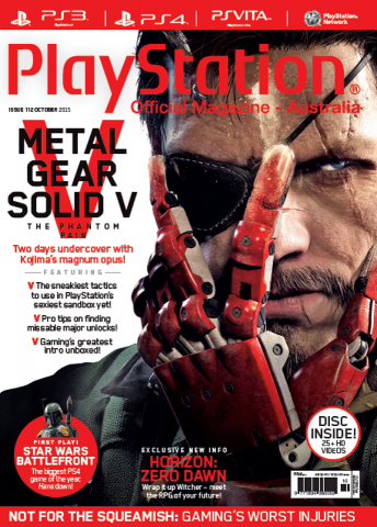 PlayStation Official Magazine Issue 112 (October 2015)