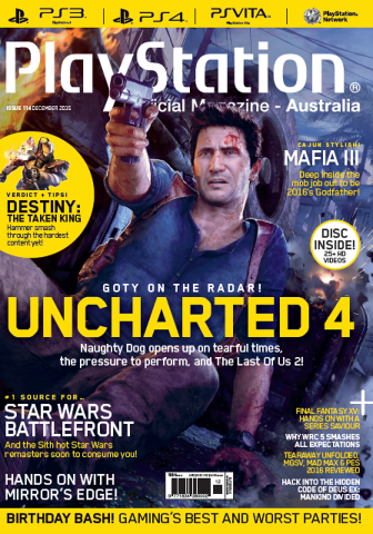 PlayStation Official Magazine Issue 114 (December 2015)