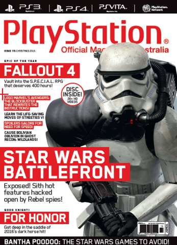 PlayStation Official Magazine Issue 115 (Xmas 2015)