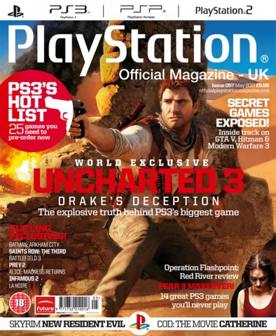 Playstation Official Magazine UK 057 (May 2011) *cover 2*