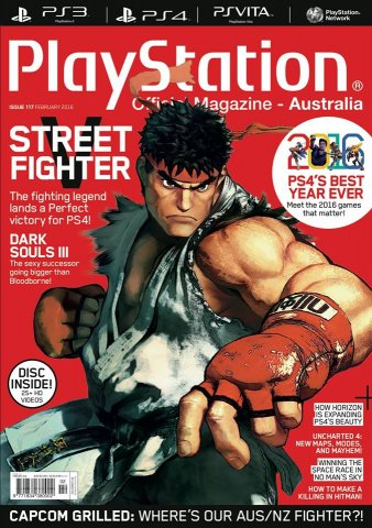 PlayStation Official Magazine Issue 117 (February 2016)