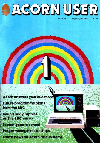Acorn User 001 (July-August 1982)