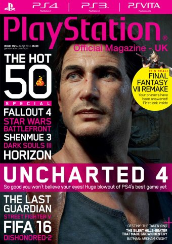 Playstation Official Magazine UK 112 (August 2015)