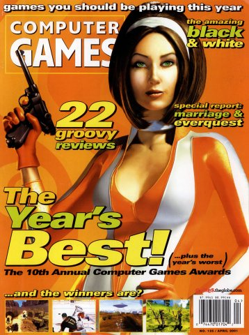 Computer Games Issue 125 (April 2001)