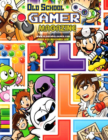 Old School Gamer Magazine Issue 13 November 2019
