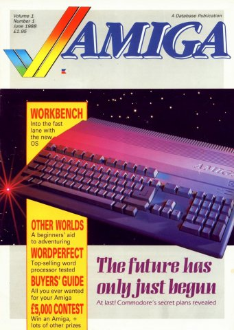 Amiga Computing Issue 001 (June 1988)