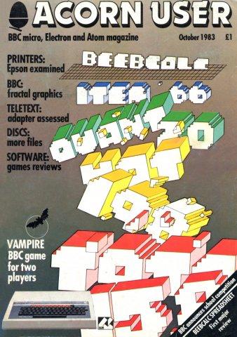 Acorn User 015 (October 1983)