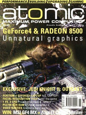 Atomic 015 (April 2002)