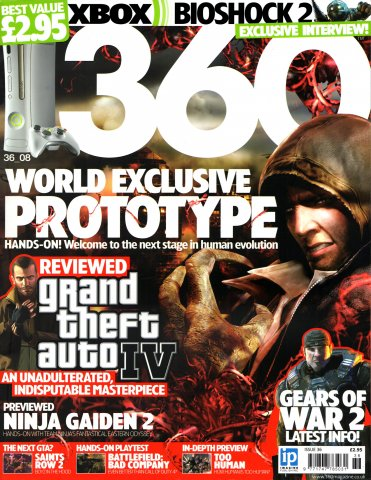 360 Issue 036 (May 2008)