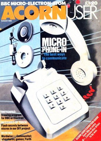 Acorn User 037 (August 1985)