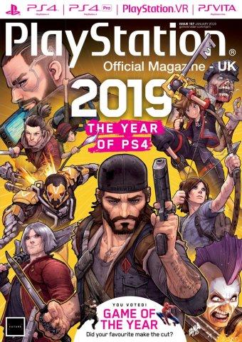 Playstation Official Magazine UK 157 (January 2019)