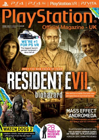 Playstation Official Magazine UK 129 (December 2016)