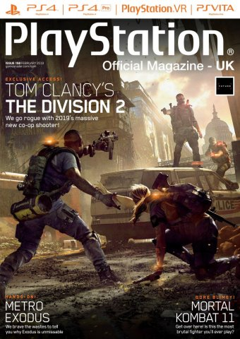 Playstation Official Magazine UK 158 (February 2019)