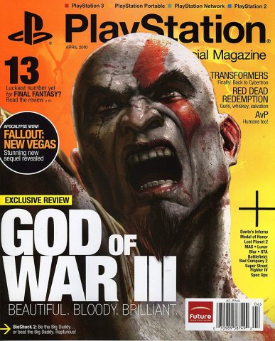 Playstation The Official Magazine (USA) Issue 031 (April 2010)