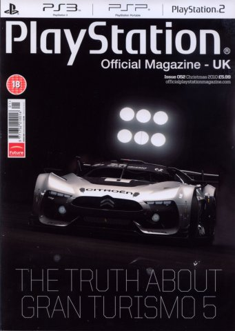 Playstation Official Magazine UK 052 (Xmas 2010)