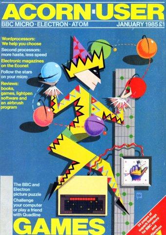 Acorn User 030 (January 1985)