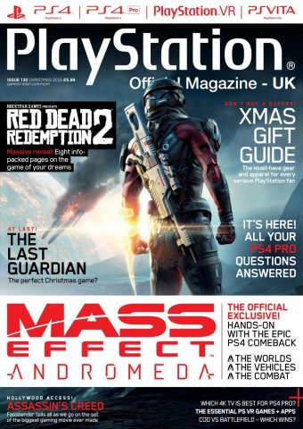 Playstation Official Magazine UK 130 (Xmas 2016)