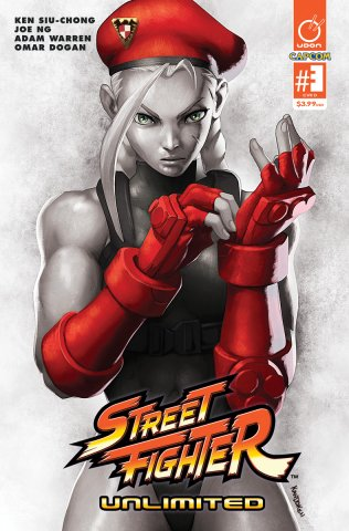 Street Fighter Unlimited 003 (February 2016) (cover D)