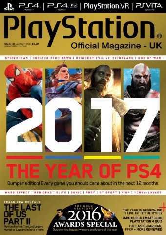 Playstation Official Magazine UK 131 (January 2017)