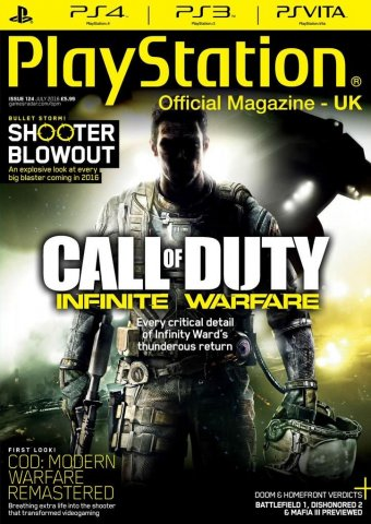 Playstation Official Magazine UK 124 (July 2016)