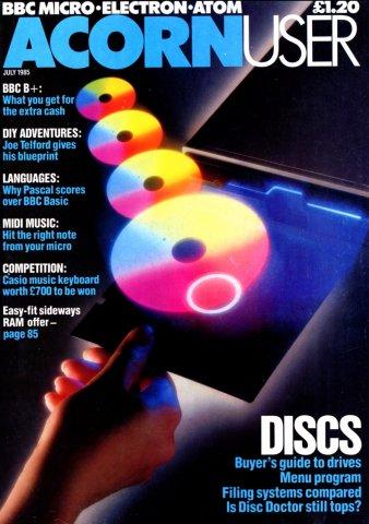 Acorn User 036 (July 1985)