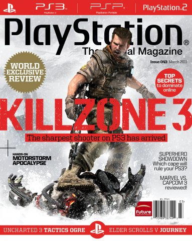 Playstation The Official Magazine (USA) Issue 043 (March 2011)