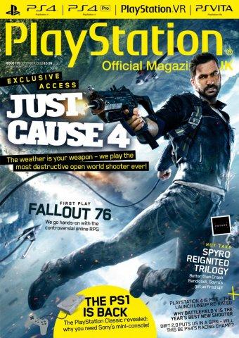 Playstation Official Magazine UK 155 (December 2018)
