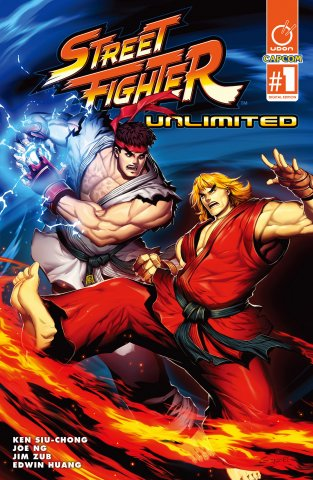 Street Fighter Unlimited 001 (December 2015) (cover A)