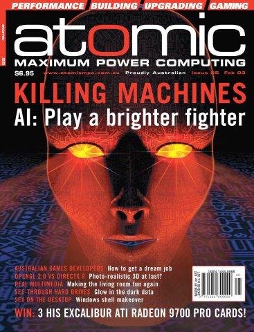 Atomic 025 (February 2003)