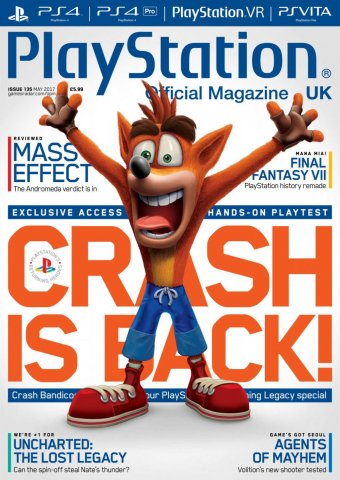 Playstation Official Magazine UK 135 (May 2017)