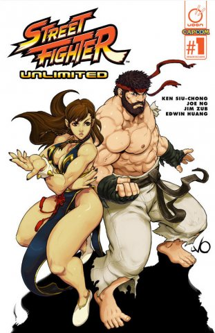 "Street Fighter Unlimited 001 (December 2015) (""Hot Ryu"" Retailer Exclusive)"