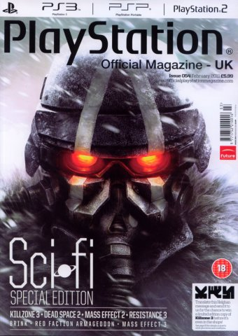 Playstation Official Magazine UK 054 (February 2011)