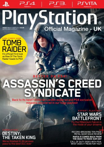 Playstation Official Magazine UK 114 (October 2015)