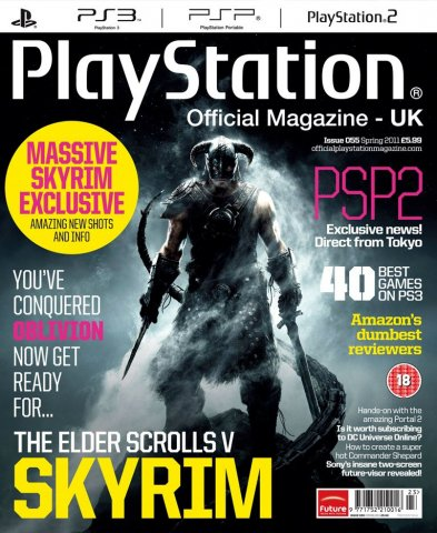 Playstation Official Magazine UK 055 (March 2011) *cover 2*