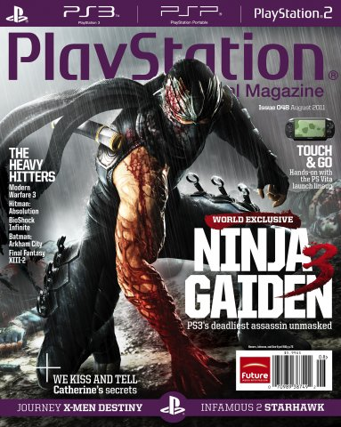 Playstation The Official Magazine (USA) Issue 048 (August 2011)