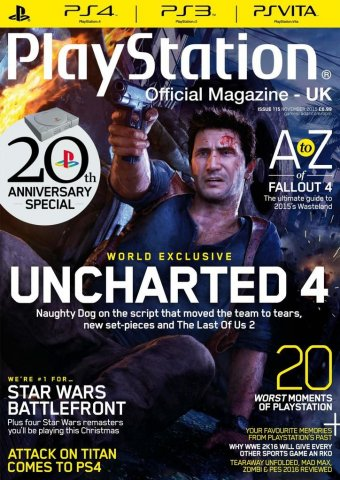 Playstation Official Magazine UK 115 (November 2015)