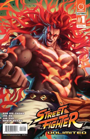 Street Fighter Unlimited 001 (December 2015) (Necalli Retailer Exclusive)