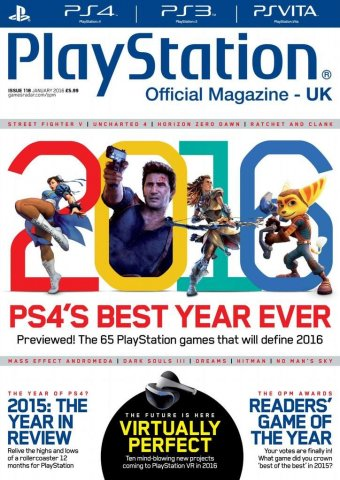 Playstation Official Magazine UK 118 (January 2016)