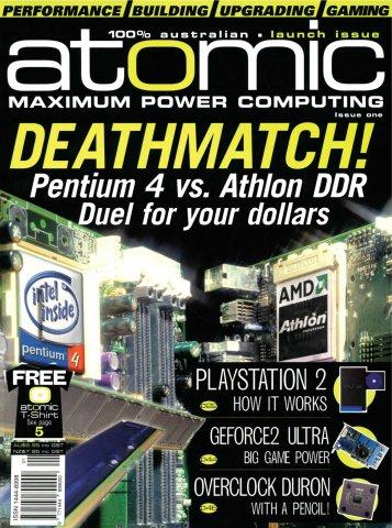 Atomic 001 (Feburary 2001)