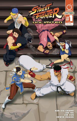 Street Fighter Unlimited 001 (December 2015) (cover B)