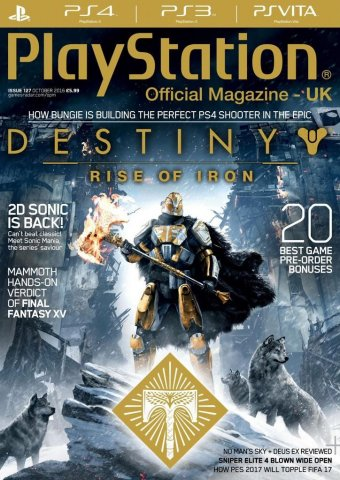 Playstation Official Magazine UK 127 (October 2016)
