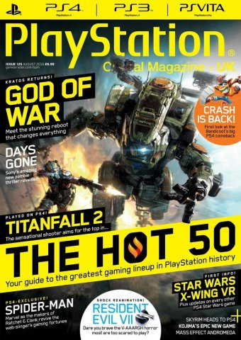 Playstation Official Magazine UK 125 (August 2016)