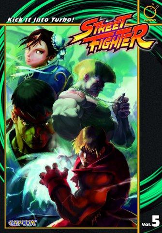 Street Fighter TPB Vol.5 Kick It Into Turbo!