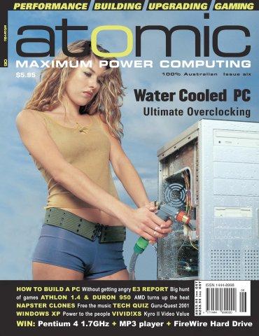 Atomic 006 (July 2001)
