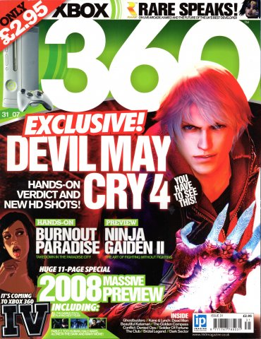 360 Issue 031 (Christmas 2007)