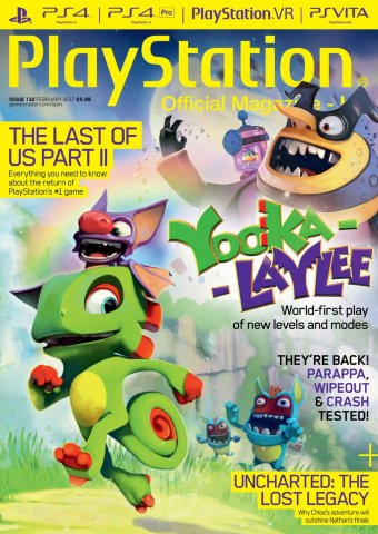 Playstation Official Magazine UK 132 (February 2017)