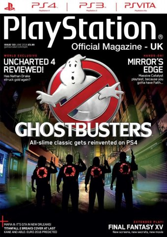 Playstation Official Magazine UK 123 (June 2016)