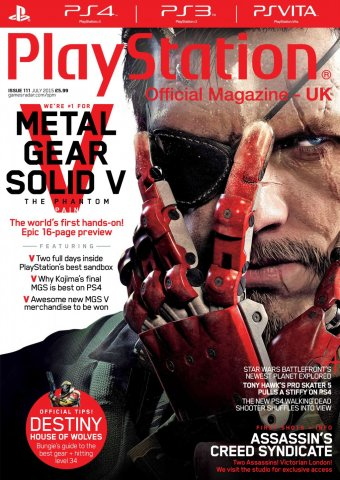 Playstation Official Magazine UK 111 (July 2015)