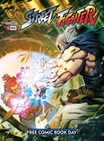 Street Fighter #0 Free Comic Book Day 2014 (May 2014)